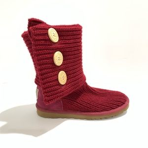 UGG Women's Carey Crochet Tall Boots